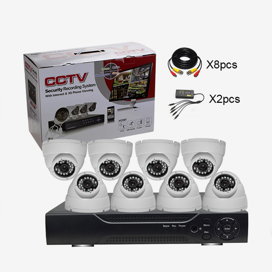 AG-AK8201 8CH AHD DVR Camera KIT